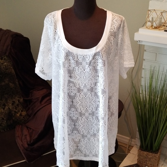 ellos Other - Lacey Coverup • sz 1X